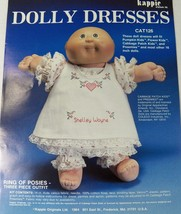 "Kappie Dolly Dress Kit Cabbage Patch 16"" Dolls 3 pc Ring of Posies Cross... - $14.50"