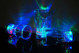 1 LED Light Up 12oz Cola Glass - $7.95