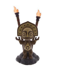 Disney Resort Polynesian Village Tiki Totem Statue Figure Light Up Trade... - ₨5,147.65 INR