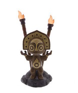 Disney Resort Polynesian Village Tiki Totem Statue Figure Light Up Trade... - $73.37