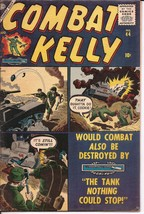 Atlas Combat Kelly #44 The Tank Nothing Could Stop No Greater Tribute Wa... - $44.95