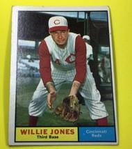 Willie Jones 1961 Topps 491 - $5.54