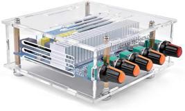 AOSHIKE DC12V-24V 2.1 Channel TPA3116 Subwoofer Bluetooth Amp With Case - $29.13