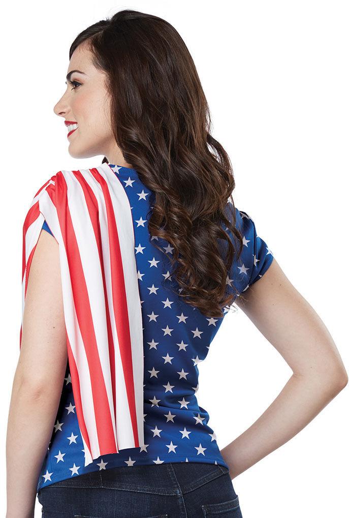 California Costume Miss Independence USA America Womens Halloween costume 60685