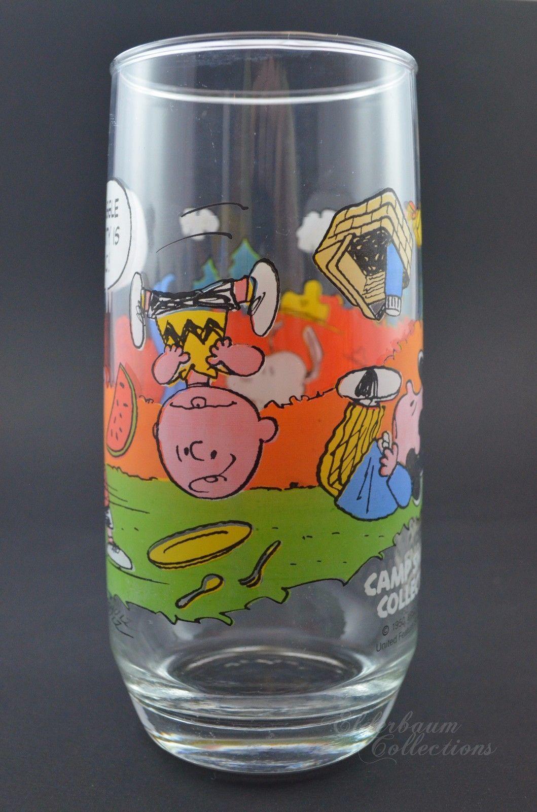 de23ade12b S l1600. S l1600. Previous. Peanuts Charlie Brown Glass 1965 McDonalds  Schulz Camp Snoopy Cup Vintage