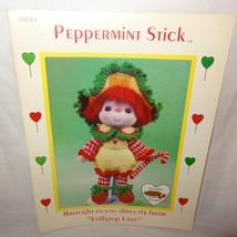 Peppermint Stick Doll Pattern Lollipop Lane Dumplin Designs Crochet 1984... - $9.99
