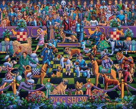 DOG SHOW - Traditional Puzzle - 500 Pieces image 2