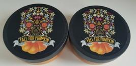 The Body Shop Fall for Pumpkin Body Butter Moisturizer Qty 2 Vanilla 6.75 oz Ea - $44.55