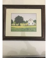 Ruth Russell Williams Old Print, Framed and Matted Picture House Mother ... - $247.49