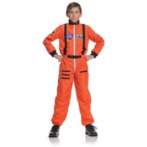Underwraps Astronaut Orange Nasa USA Space Child Boys Halloween Costume ... - $28.99