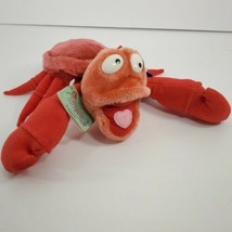 Vintage Applause Disney Little Mermaid Sebastian Plush with all tags (br) - $11.88