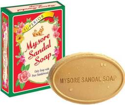 Mysore Sandal Soap Herbal, Only Bath Soap with Pure Sandalwood Oil. 75 g... - $4.50