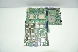 SuperMicro X7DWU Rev 1.01 LGA771 Server Board  w/ 2x Xeon SLBBC + 12GB DDR2 - $39.99