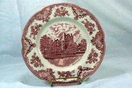 Johnson Bros 2003 Old Britain Castles Pink Blarney Castle Dinner Plate - $6.23