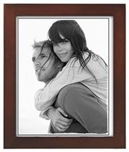 Malden International 8x10 Picture Frame Linear - Dark Walnut Wood, Set of 2 - $28.21