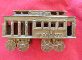 Brass Trolley Cable Car San Francisco Travel So... - $14.99