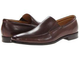 Handmade Men's Brown Slip Ons Loafer Leather Shoesf image 1