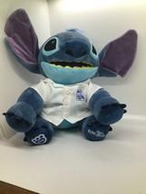 "Disney's Stitch Build-A-Bear 14"" Stuffed Blue Plush - Great Condition!  - $28.51"