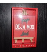 MINI GALLERY BEECHWOOD EASEL CANVAS STOCKING STUFFER WORK GIFT ARTWORK D... - $3.69