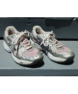 ASICS GEL GT-2130 Pink/Silver CN802 Women 4.5 Running Athletic Shoes Duomax - $19.59