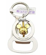 Disney Parks Keychain - Bottle Opener Spinning Mickey Mouse Head - $19.79