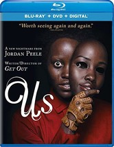 Us [Blu-ray + DVD + Digital]  - $29.95