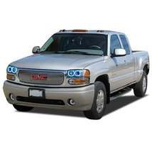 FLASHTECH for GMC Sierra 1500 02-06 Blue Single Color LED Halo Ring Head... - $185.22