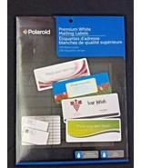 Polaroid Premium White Maling Lables - $4.75