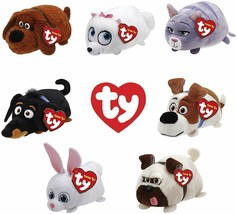 TY Beanie Boos - Teeny Tys Stackable Plush - Secret Life of Pets - SET OF 7 - $22.53