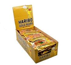 Haribo Gold Gummi Bears Bags - 24 / Box - $34.64