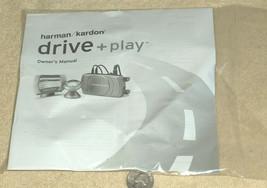 NEW Harman Kardon Drive + Play NIP OEM Owner's Manual Instructions Guide... - $14.11