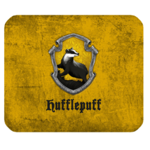 Mouse Pad Harry Potter Hufflepuff Logo Fantasy Novels Movie JK. Rowling ... - €5,28 EUR