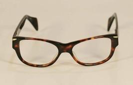 Fossil HERBERT Tortoise Shell Plastic Eyeglass Frames Designer Style Rx Eyewear - $9.12
