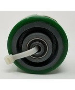 "4"" Caster Wheel, 750 lb. Load Rating, Wheel Width 2"", Polyurethane, Axle... - $8.90"
