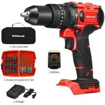 20V Cordless Brushless Hammer Drill Kit - $91.89