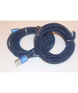 Dark Blue 10 ft Heavy Duty USB data Cable Charging cord For Samsung Galaxy S8 - $11.95