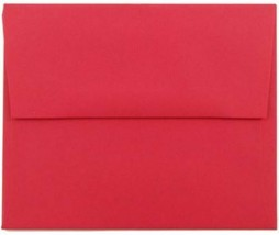 Marco's Announcement Envelopes, Size A-2, Red