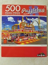 Puzzlebug Cra-Z-Art 500 Pc. Puzzle Florida State Fair New Free US Shipping  - $8.42