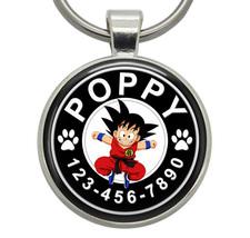 Pet ID Tags - Goku (Dragon Ball) - Dog ID Tags, Cat ID Tags, Dog Tags, C... - $19.99
