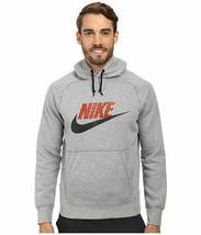 NIKE Men's AW77 Safari Pullover Hoodie NEW AUTHENTIC Grey-Black 688978-063 - $35.00