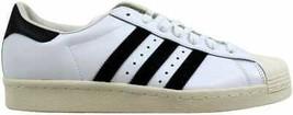 Adidas Superstar 80s White/Black-Chalk G61070 Men's - $58.16