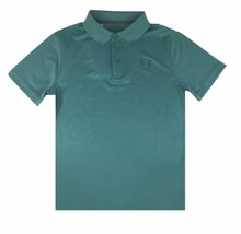 Under Armour Boys Performance Loose Fit Polo Shirt Green M 1291674-416 - $29.99