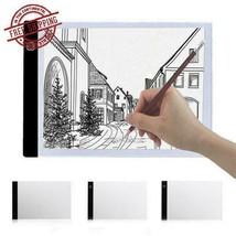 Tracing Drawing Board LED Art Stencil Board Light Box A4 2000LM USB 3Mod... - $19.19