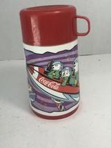 Vintage Aladdin Coca-Cola Collectible Thermos (Polar World) 1996 - $10.84