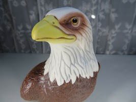 American Bald Eagle Porcelain figurine Pride Of America Avon 1982 signed O'Brien - $30.00