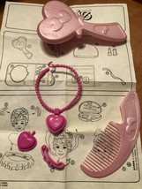 Vintage Arco Replacement Parts 1988 Make Me Pretty Barbie Hair Styling By Mattel - $9.74