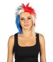 Panama Flag Sport Mullet Wig   Premium Breathable Capless Cap - $29.85