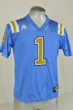 Vintage NFL Adidas  #1 Detroit Lions 1990s Med Throwback Boys Large Blue... - £21.58 GBP