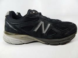 New Balance 990 V4 Taglia 11.5 2e Largo Eu 45.5 da Uomo Running Scarpe Nere