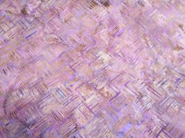 "Quality FABRIC Hoffman batik ""Amethyst"" deep mauves/tan; 4 yds @ $8.00 p... - ₨544.12 INR"